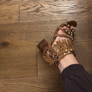 Vince Camuto fringe sandals